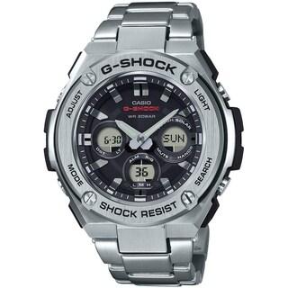 Casio G-Shock G-STEEL SLIM Men's Tough Solar Watch (Silver)