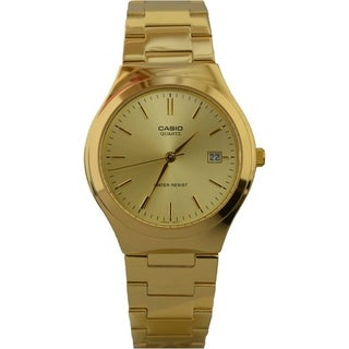 Casio MTP1170N-9A General Men's Metal Fashion Watch (Gold)