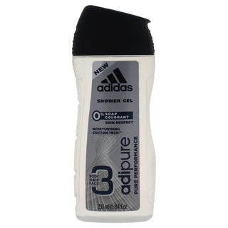 Adidas 3-in-1 Adipure Pure Performance 8.4-ounce Shower Gel