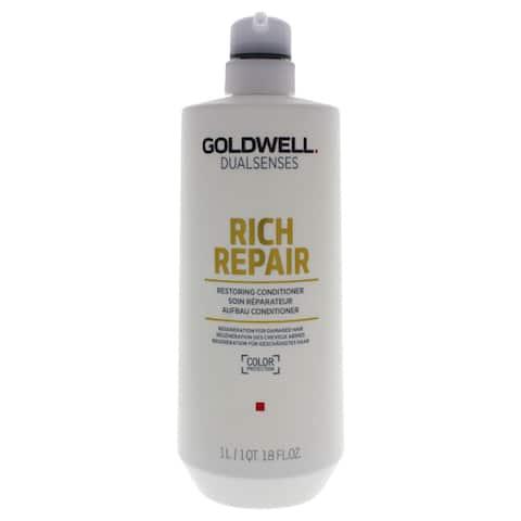 Goldwell DualSenses Rich Repair 33.8-ounce Restoring Conditioner