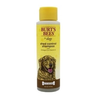 2-Pack Burt's Bees for Dogs Shed Control Shampoo with Omega 3's & Vitamin E