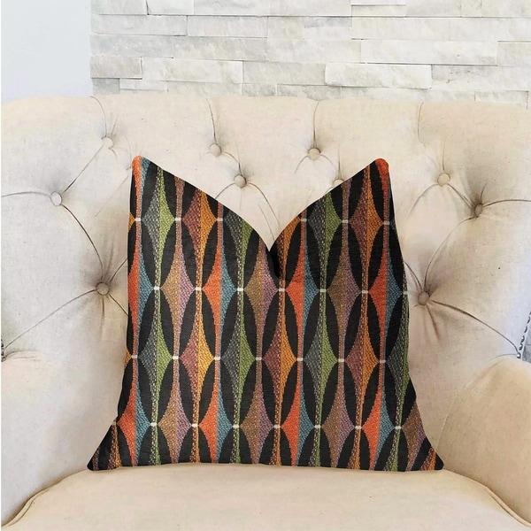 Plutus Jazzy Crystal Multicolor Luxury Decorative Throw Pillow