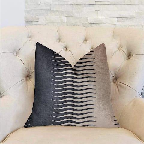Plutus Dreamland Blue and White Luxury Decorative Throw Pillow