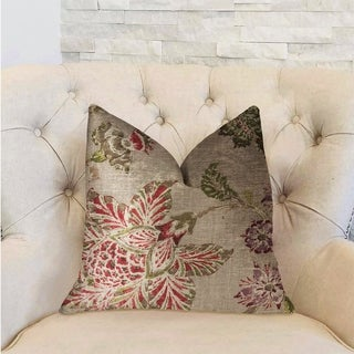 Plutus Garden Secrets Multicolor Luxury Throw Pillow