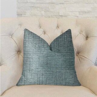 Plutus NewEra Bliss Blue Luxury Decorative Throw Pillow