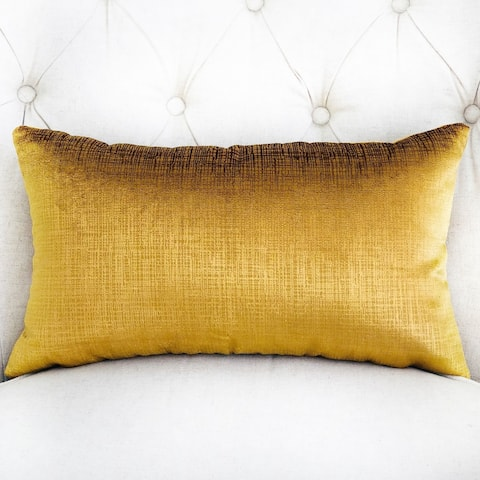 Plutus Beverly Gold Luxury Decorative Throw Pillow