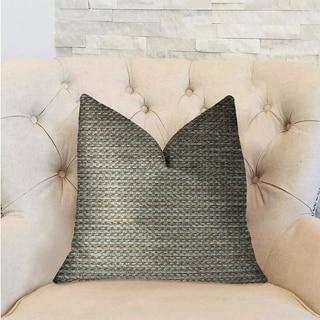 Plutus Jesper Jade Green and Beige Luxury Decorative Throw Pillow