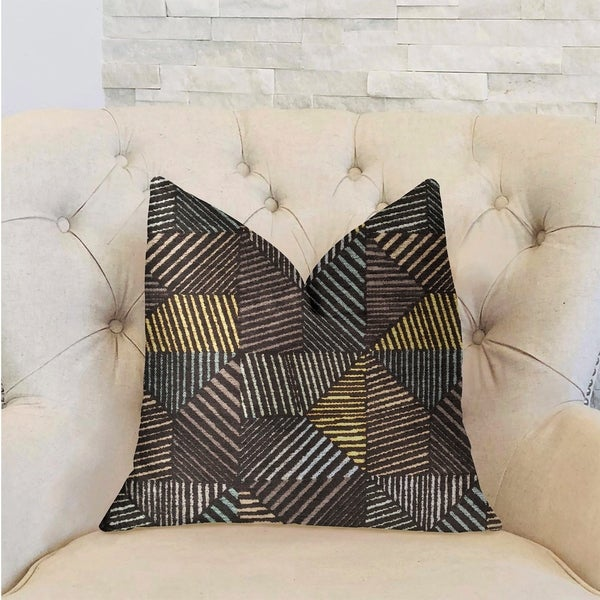Plutus Highland Heights Multicolor Luxury Decorative Throw Pillow