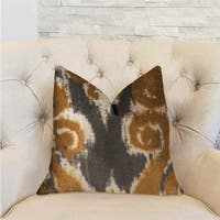 Plutus Euphoria Plush Gold Luxury Decorative Throw Pillow