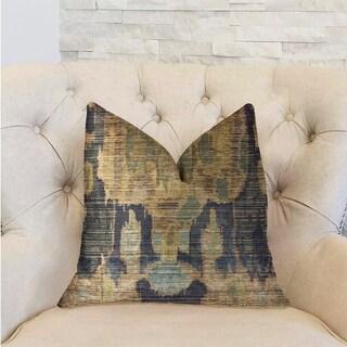Plutus Bear Valley Green Luxury Throw Pillow