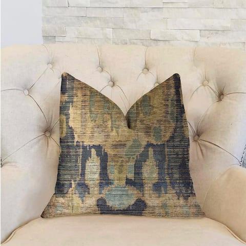Plutus Bear Valley Green Luxury Decorative Throw Pillow