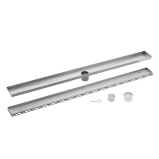 60 in. Stainless Steel Tile Insert Linear Shower Drain