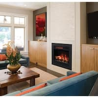 "ClassicFlame 23"" 3D Infrared Quartz Electric Fireplace Insert"