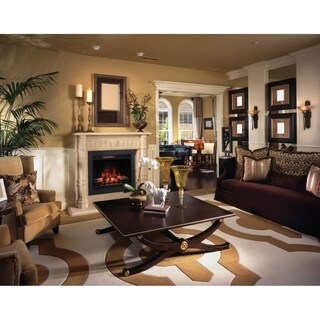 "ClassicFlame 33"" 3D Infrared Quartz Electric Fireplace Insert"