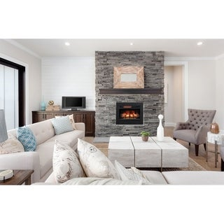 "ClassicFlame 26"" 3D Infrared Quartz Electric Fireplace Insert"