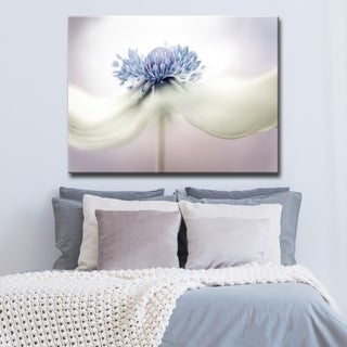 Ready2HangArt 'Anemone' Canvas Wall Décor - Purple