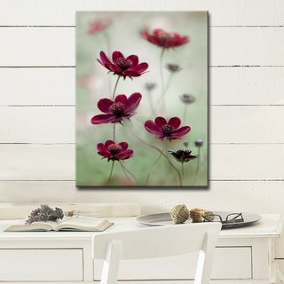 Ready2HangArt 'Cosmos Sway' Canvas Wall Décor - Red