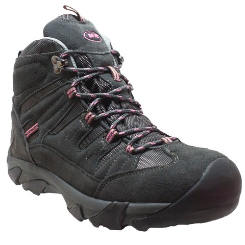 Women's Composite Toe Work Hiker Grey/Pink