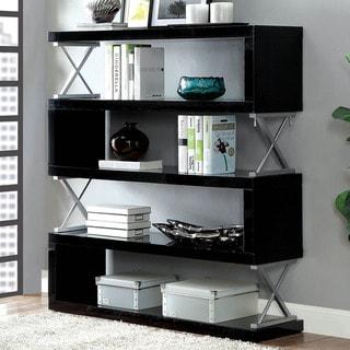 Furniture of America Loop Contemporary Metal 5-tier Bookcase
