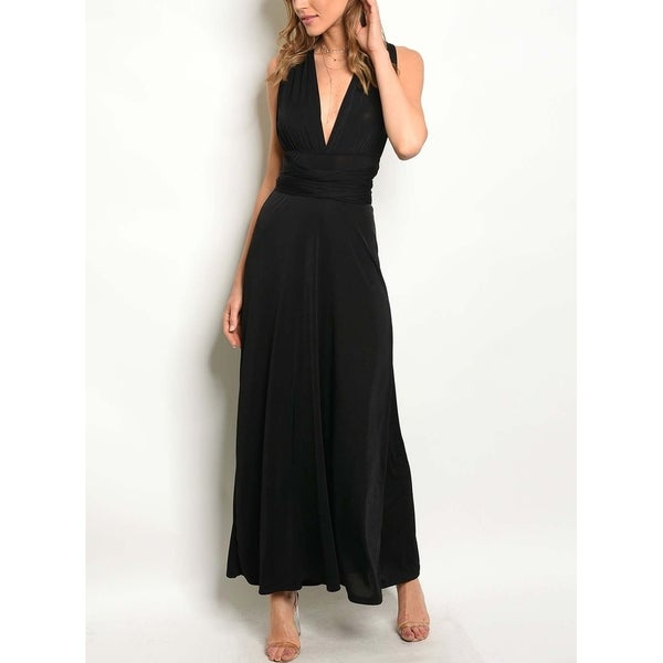 Shop JED Women s Convertible Multi-Way Infinity Maxi Dress - Free Shipping  On Orders Over  45 - Overstock.com - 21256595 e47b6b9ce5dc