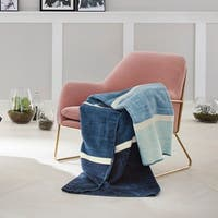s.Oliver Ocean Ombre Jacquard Throw