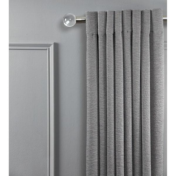 Double Window Curtain Rod Set