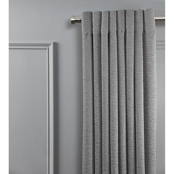 Linen Avenue End Cap Double Window Curtain Rod Set 28 To 48 Inch