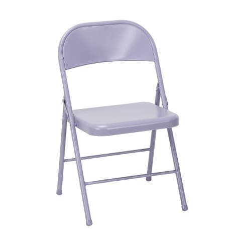 Novogratz All Steel Folding Chair (Set of 2)