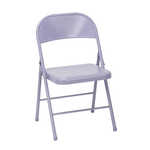Novogratz All Steel Folding Chair (Set of 2)