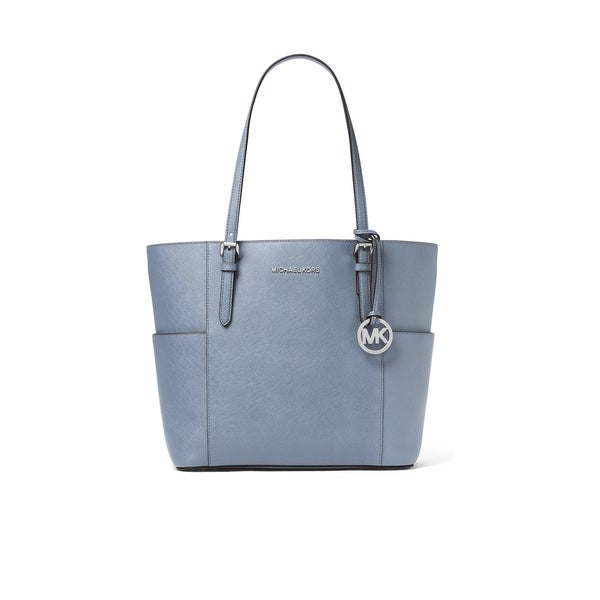 b513b0a5edb4 Shop MICHAEL Michael Kors Jet Set Travel Large Tote Pale Blue ...