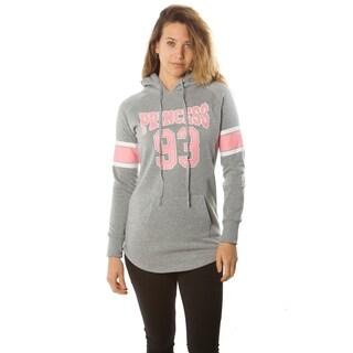 Ladies Fleece Pullover Hooded Sweater Jacket