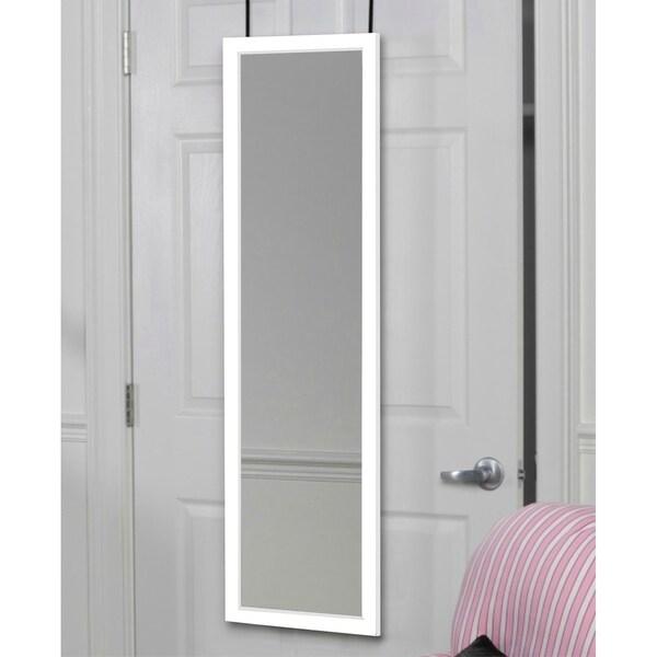 Shop Mirrotek Over The Door Wall Mounted Full Length Door Dressing