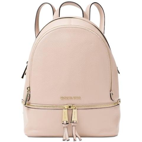 MICHAEL Michael Kors Rhea Zip Medium Soft Pink Backpack