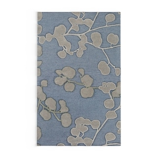Hand-Tufted Vegas Wool Rug (Blue - 4 x 6)