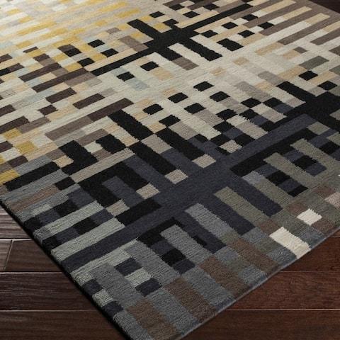 Carson Carrington Lysekil Hand-knotted New Zealand Wool Area Rug - 2' x 3'