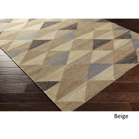 Carson Carrington Vetlanda Hand Woven Jute/Viscose Area Rug