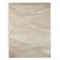 Palm Canyon Neutra Hand-woven Cleveland Wool Area Rug - 8' x 10'6