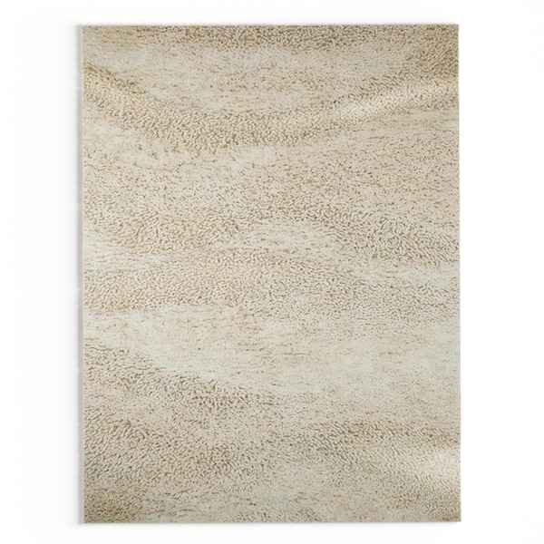 Palm Canyon Neutra Hand-woven Cleveland Wool Area Rug - 8' x 10'6""