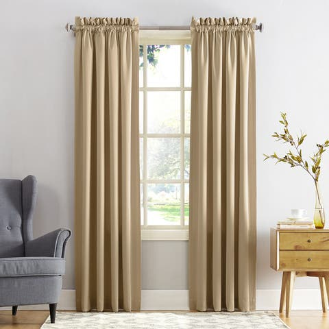 Porch & Den Inez Room Darkening Window Curtain Panel or Valance