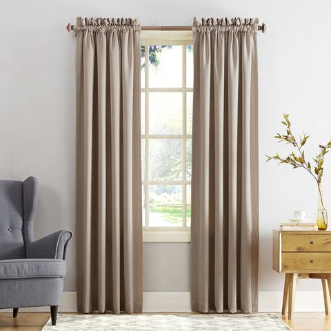 Porch & Den Inez Room Darkening Window Curtain Panel or Valance