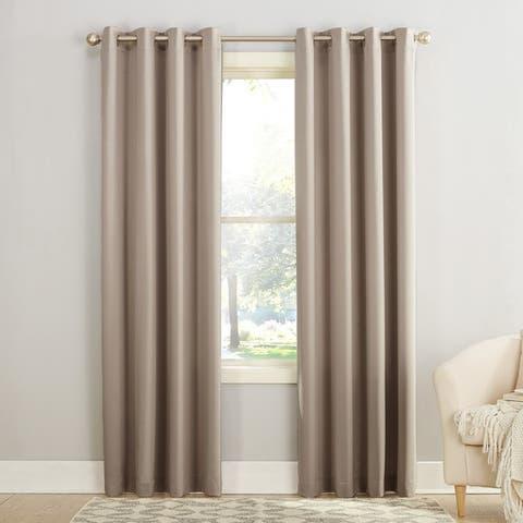 Porch & Den Nantahala Grommet Room Darkening Curtain Panel