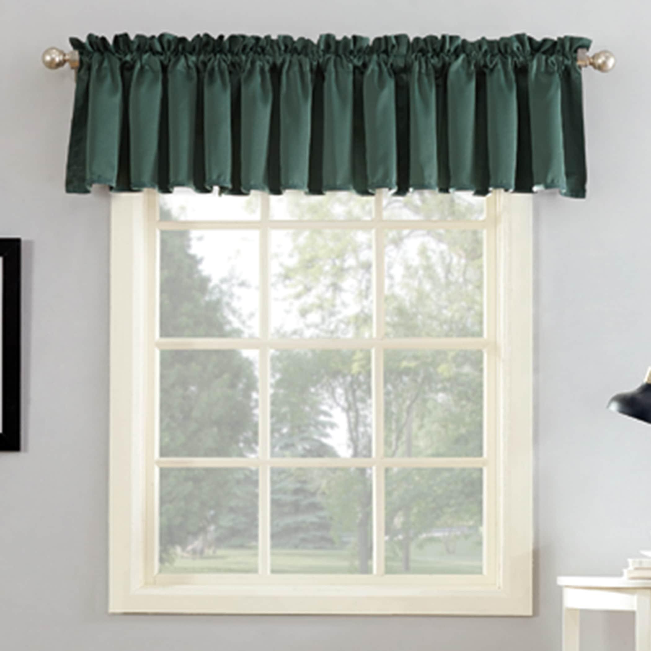 Porch Den Inez Room Darkening Window Valance 54 X 18 54 X 18 On Sale Overstock 21258258
