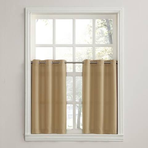 Copper Grove Speedwell Grommet Window Tier Pair