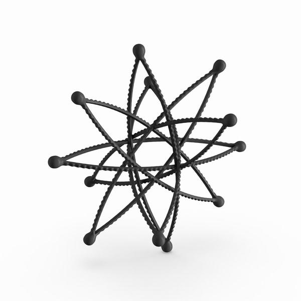 Carbon Loft Barry Metal 12-inch Star Decor