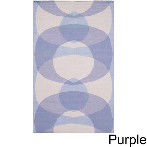 Carson Carrington Struer Hand-woven Wool Area Rug