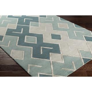 Carson Carrington Hoganas Hand-tufted Wool Area Rug