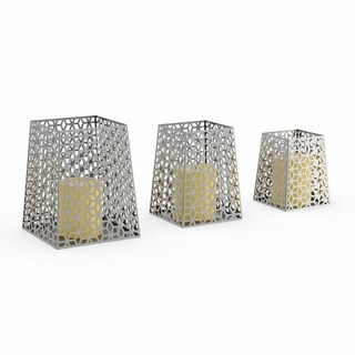 The Curated Nomad Gunnerman Metal Candle Holder (Set of 3)