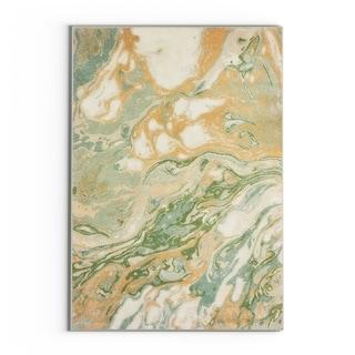 "Carson Carrington Froya Abstract Green/ Gold Area Rug - 3'10"" x 5'5"""