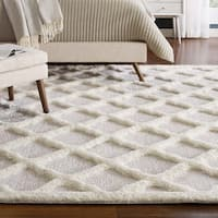 Regale Abstract Moroccan Trellis Shag Area Rug - 8' x 10'