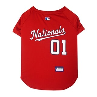 MLB Washington Nationals Sports Team Logo Jersey - Medium